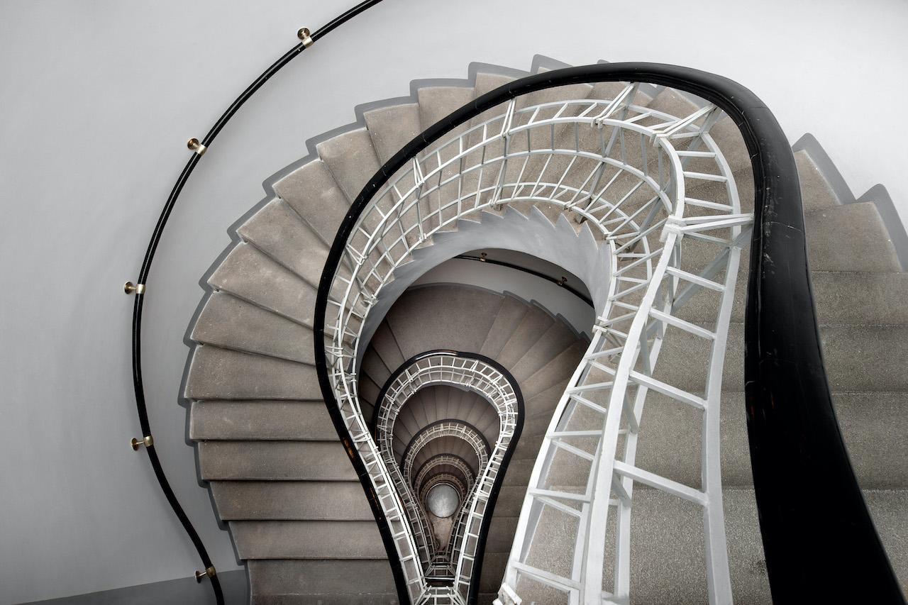 Kruhové schodiště