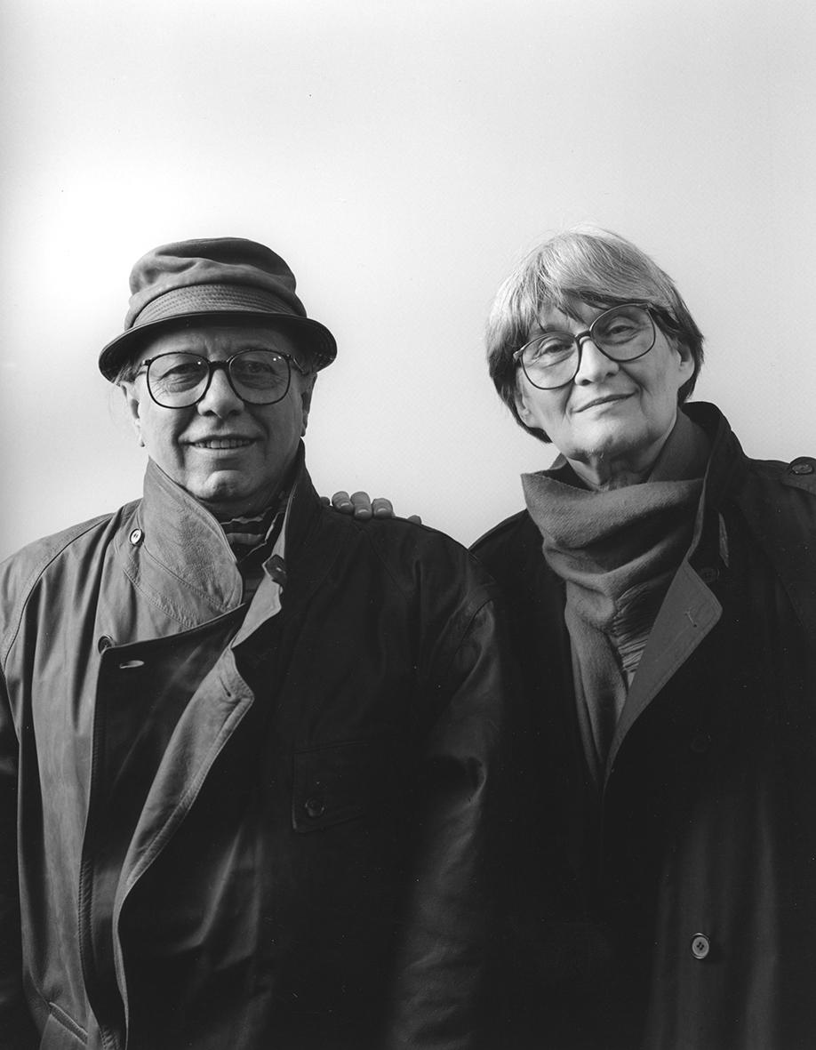 Stanislav Libenský a Jaroslava Brychtová