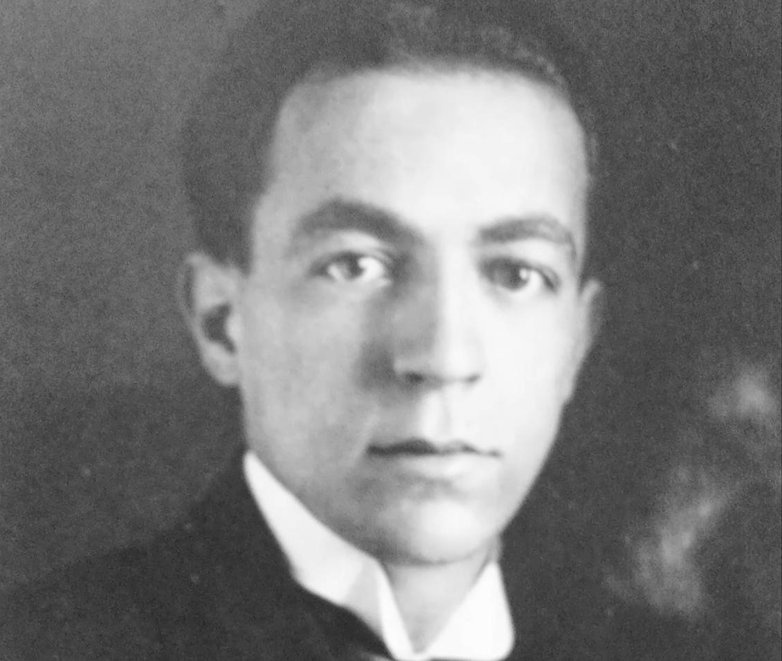 Ladislav Sutnar v mládí