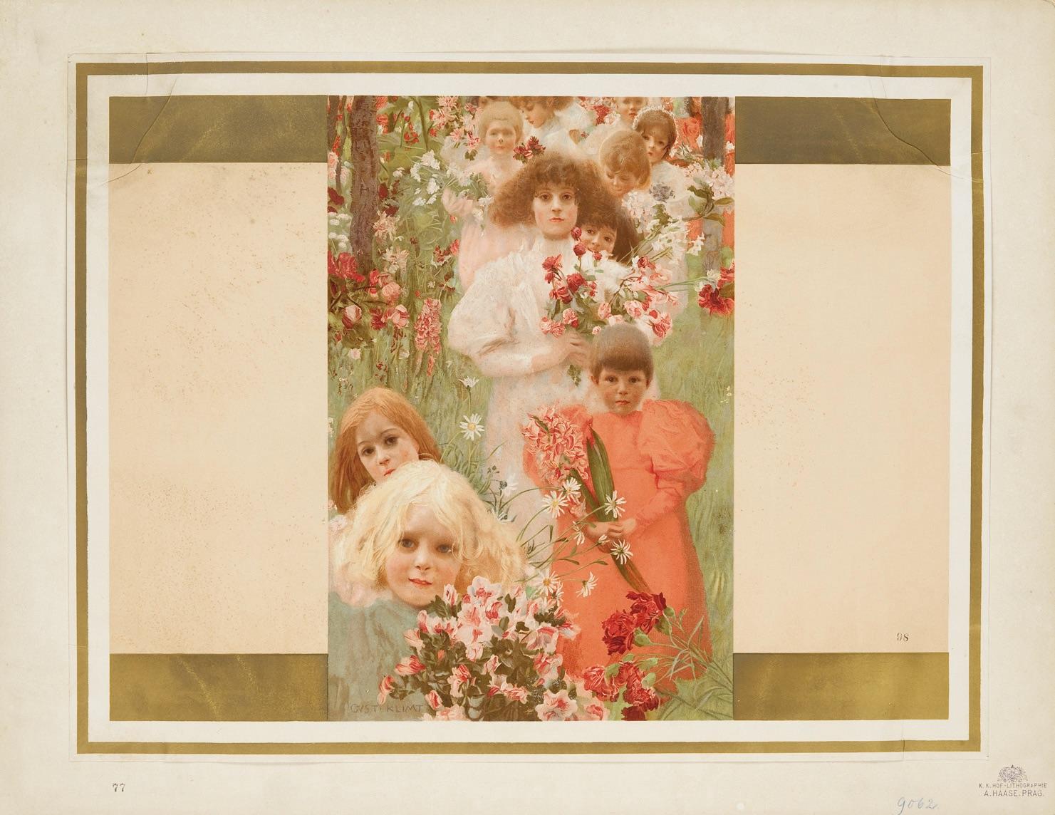 Děti s květinami