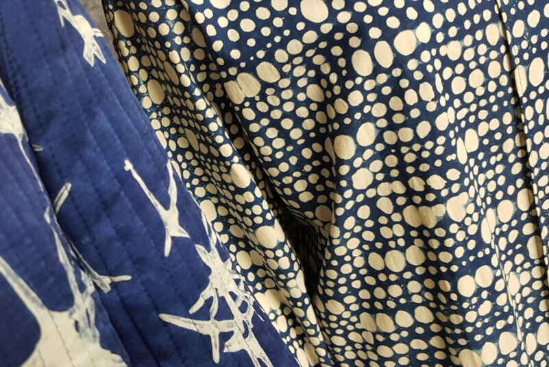 FASHION IN BLUE. INDIGO IN JAPANESE AND CZECH TEXTILES THEN AND NOW