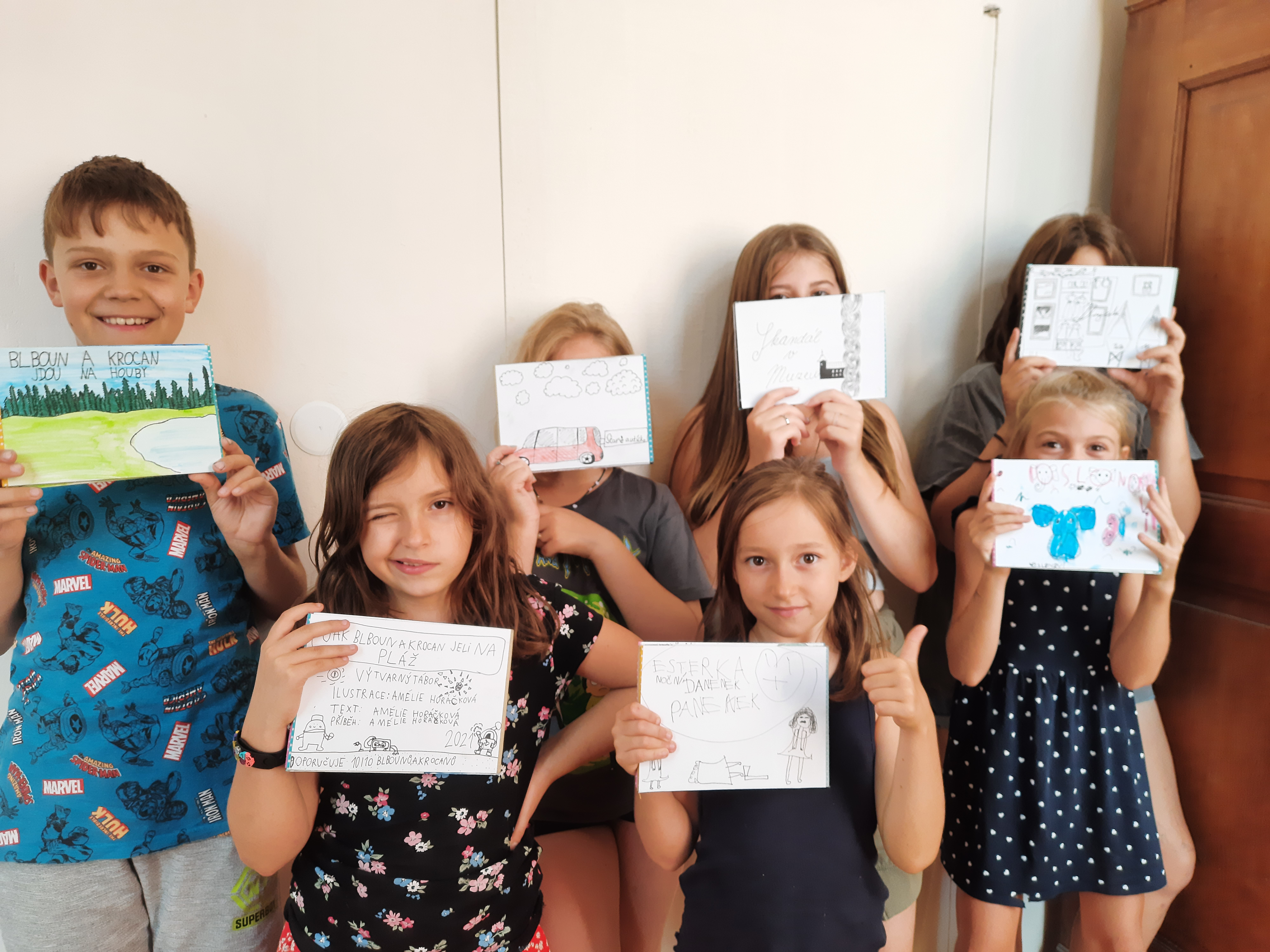 Děti s obrázky