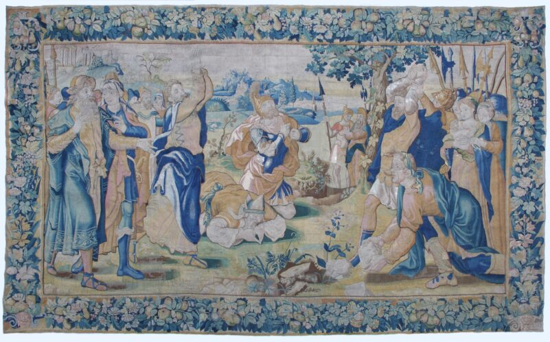 ART OF RESTORATION. TAPESTRIES AND LITURGICAL TEXTILE
