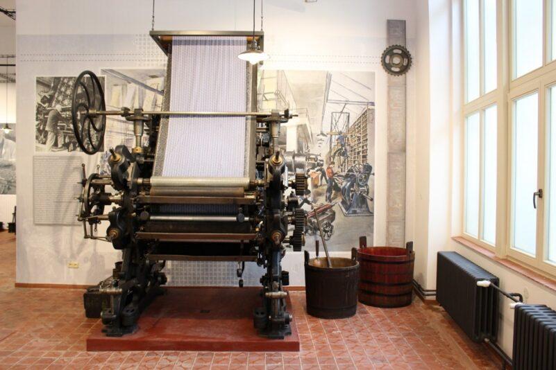 Historie expozice textilního tisku Dvůr Králové nad Labem