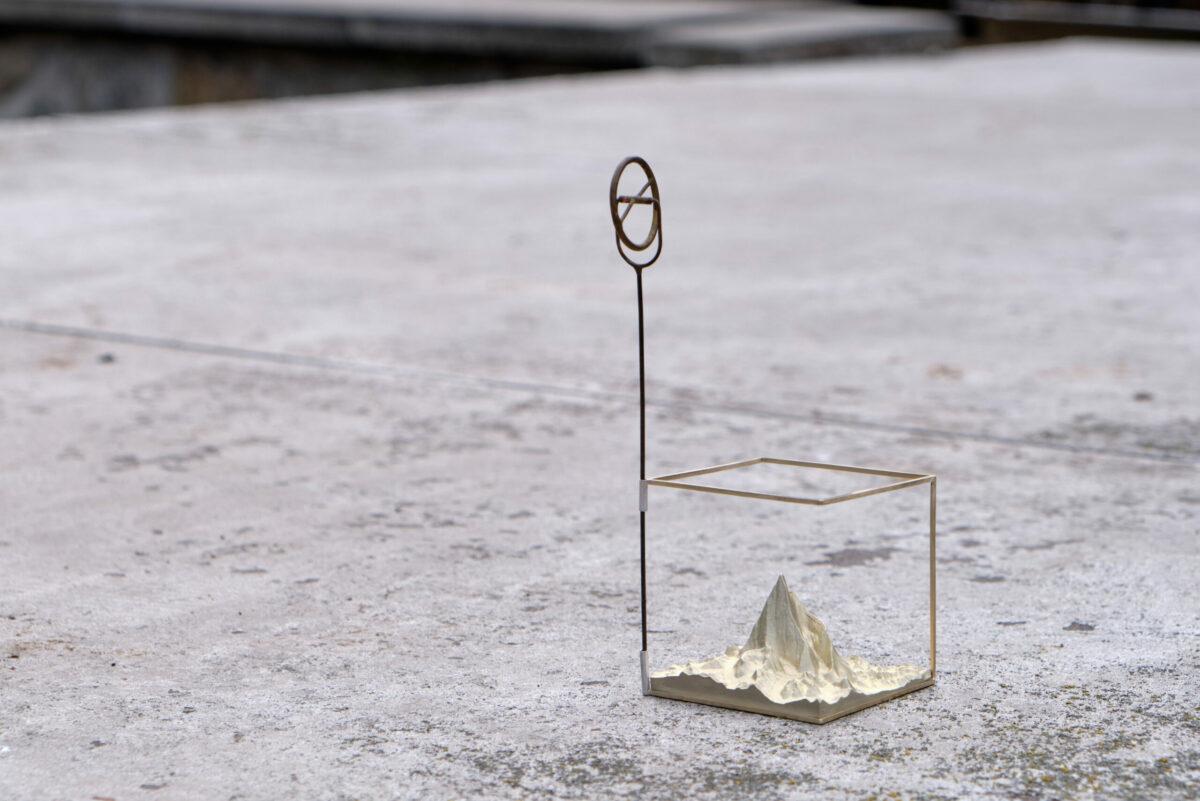 Umělecké dílo ve tvaru kostky