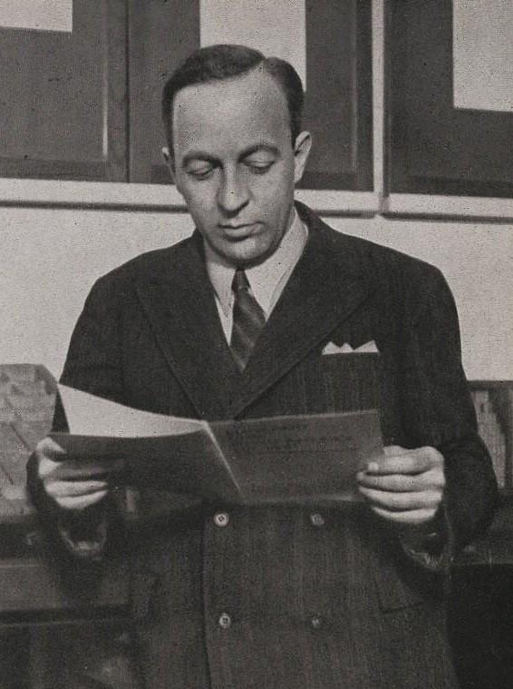 Ladislav Sutnar v roce 1934