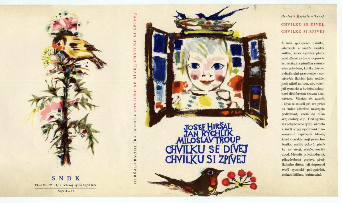 Obálka knihy s obrázkem dítěte vykukujícího z okna